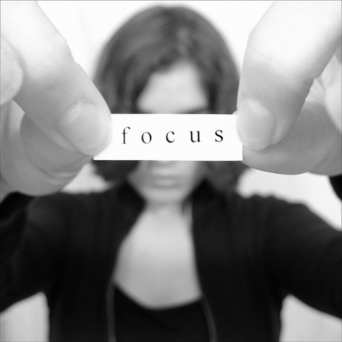 Focus on what you have